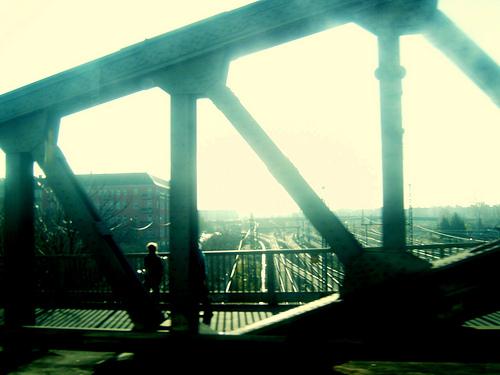 berlin, polaroidized