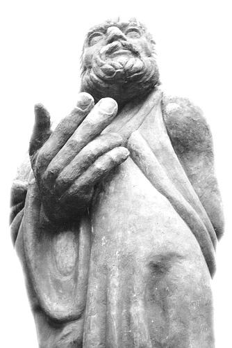 Platon mit den großen Händen