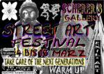 Streetart Festival in der Scherer8 - Eintritt frei!