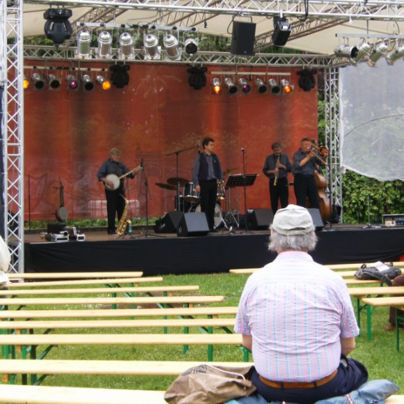 Jazz im Bürgerpark (Mai 2010)