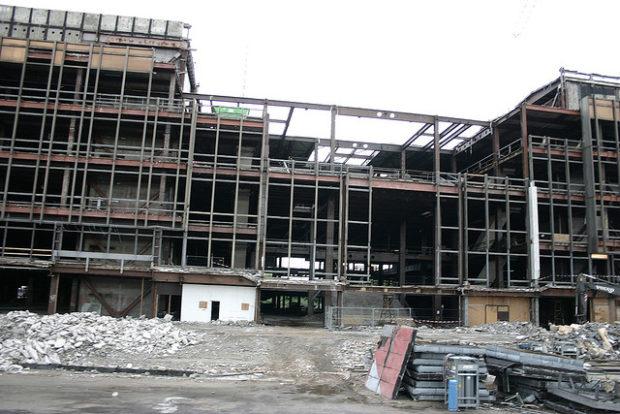 Stahlgerüst (Mai 2006)