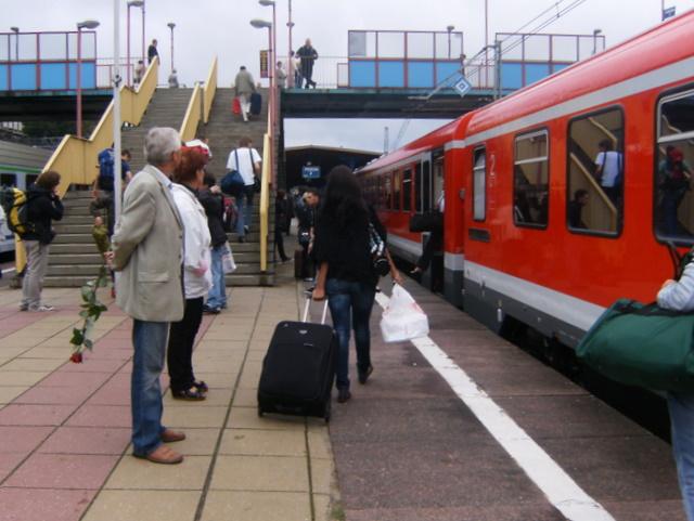 Ankunft in Szczecin