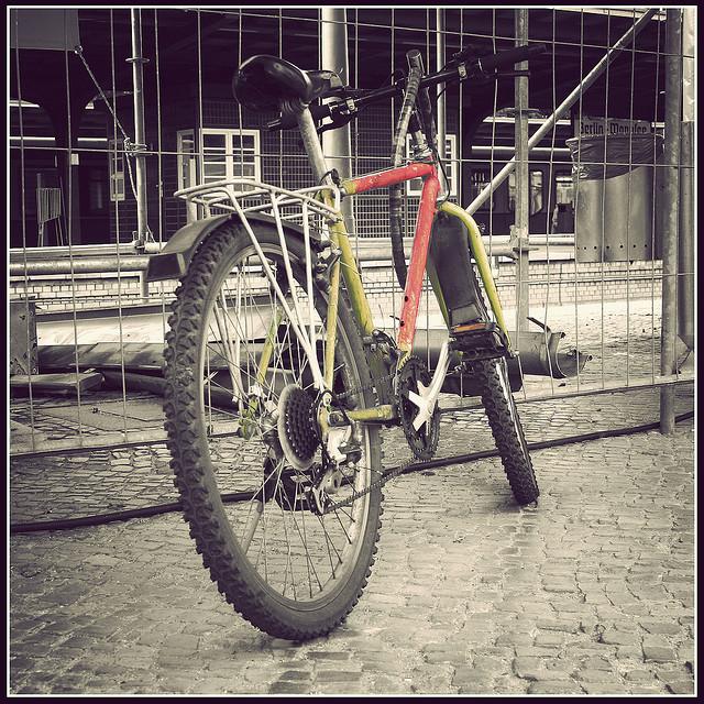 mein altes fahrrad, wurde geklaut (august 2007)