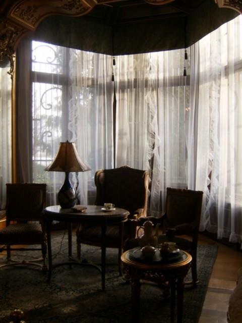 in der Villa von Eduard Herbst
