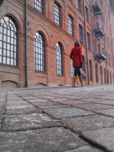 renoviertes altes fabrikgebäude
