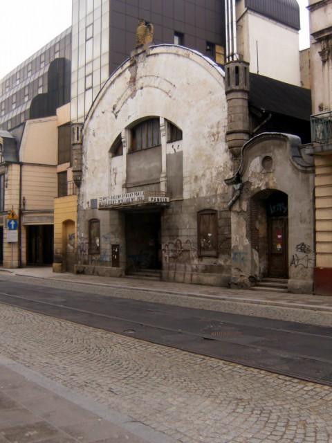altes kino, beeindruckende architektur