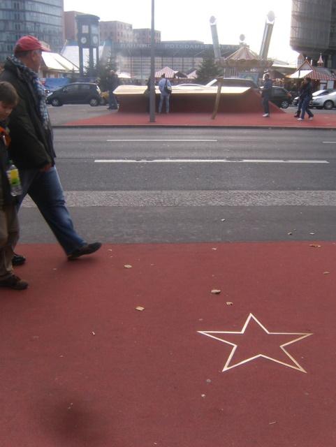 Walk of Fame (?) am Potsdamer Platz (Oktober 2010)