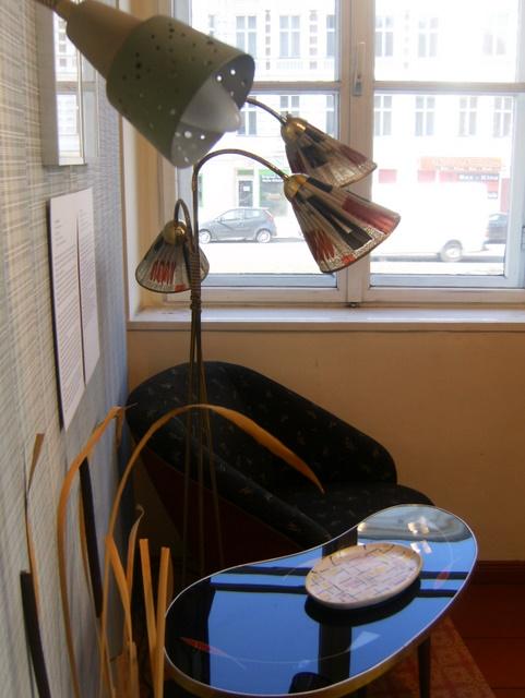 stilechtes wohnzimmer im heimatmuseum