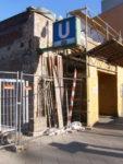 sanierung des südlichen eingangs des u-bahnhofs gesundbrunnen