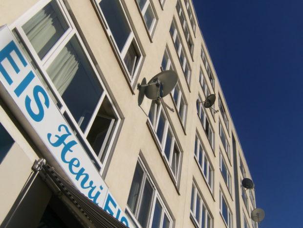 Eis Henri in der Brunnenstraße