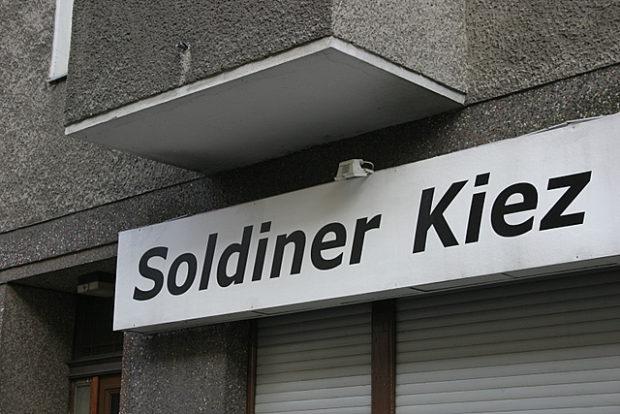 Schild Soldiner Kiez