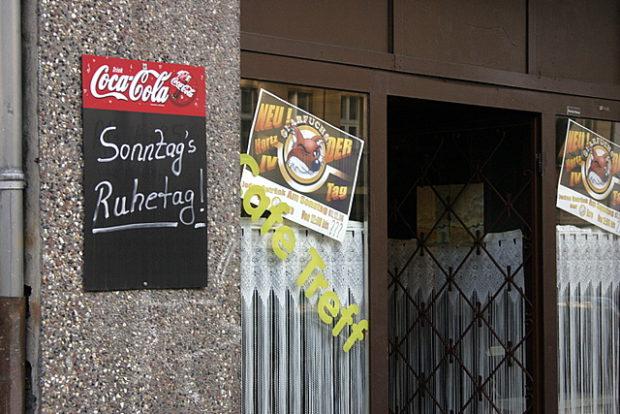 Laden in der Soldiner Straße