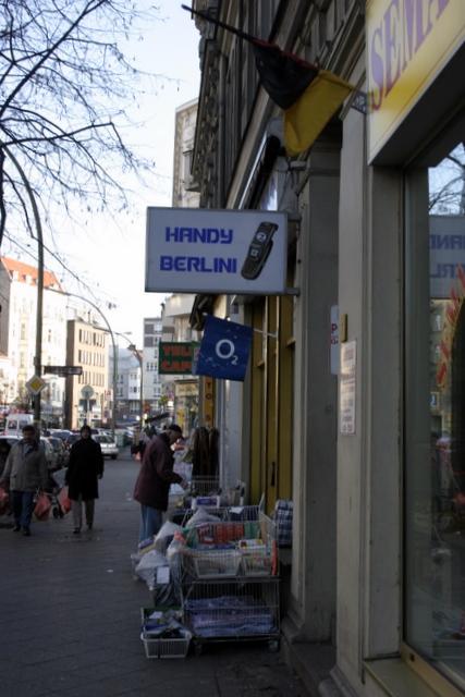 Handy Berlin in der Badstraße