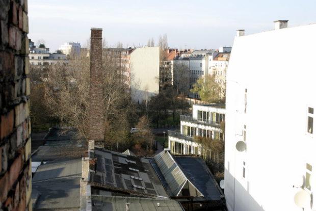 Hinterhof in der Pankstraße