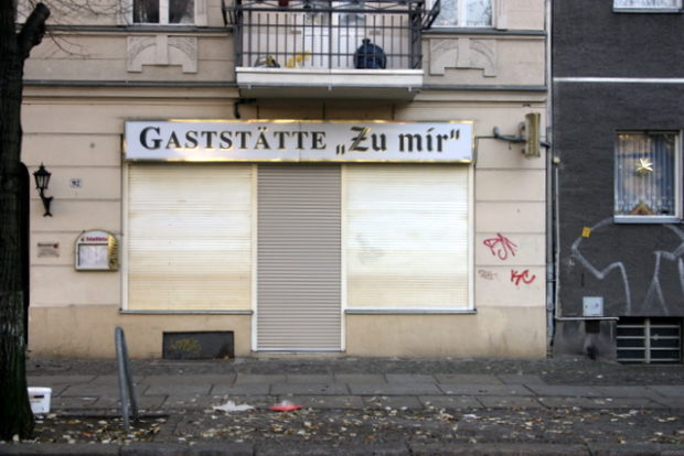 Kneipe Zu Mir in der Soldiner Straße