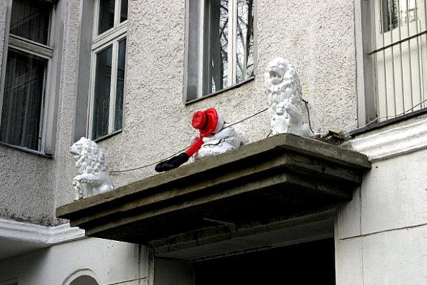 Skulpturenkunst in der Soldiner Straße