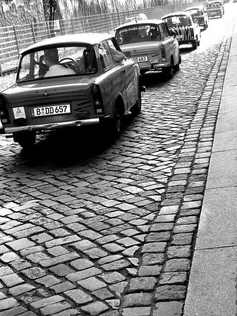 Trabbi-Safari durch Mitte - Mai 2008