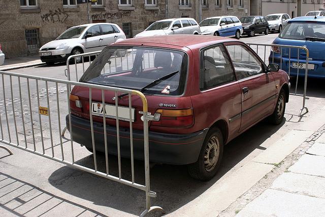 Eingeparkt in Leipzig - Juni 2006