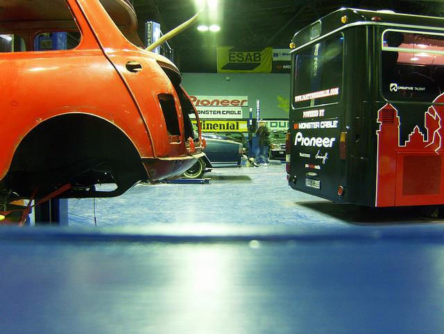 Auto und Bus - November 2008