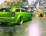grünes Auto - November 2008