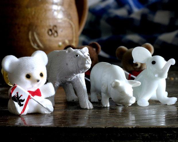 berliner senat, cute knut, white pig & elephant (März 2007)
