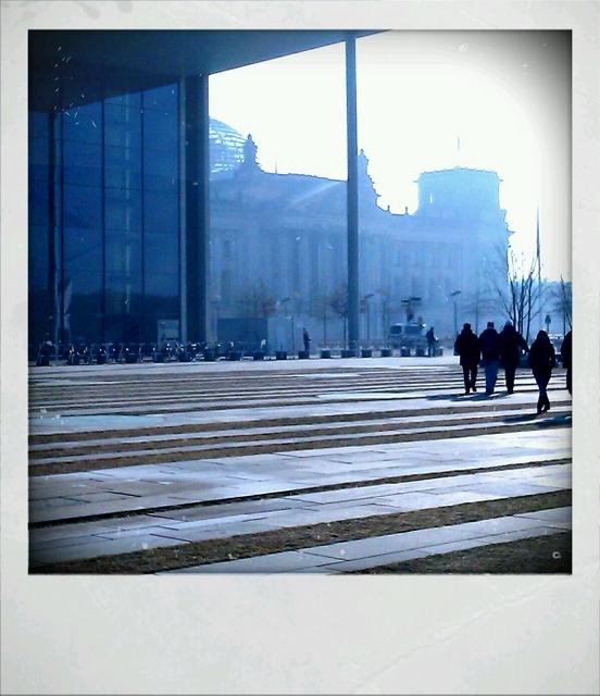 Reichstag im März 2011