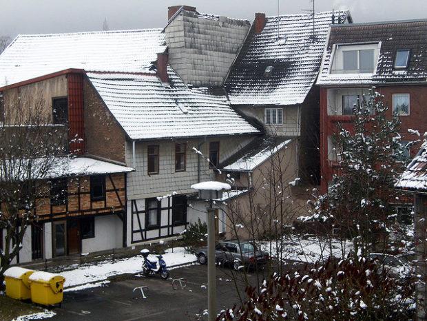 Winteridyll im Dezember 2008