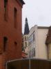 schiefer kirchturm (juli 2011)