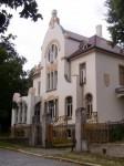 alte, inzwischen renovierte Stadtvilla (Juli 2011)