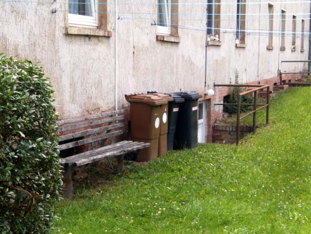 müll-idyll in bleicherode, thüringen (juli 2011)