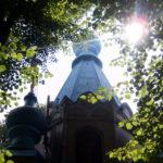 kirchturm und sonne (Juli 2011)
