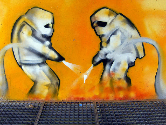 Kunst an der Feuerwache Kreuzberg (Juni 2008)