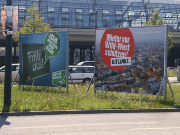 berlin-wahl am hauptbahnhof (august 2011)