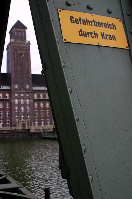 Gefahrbereich Westhafen (August 2006)