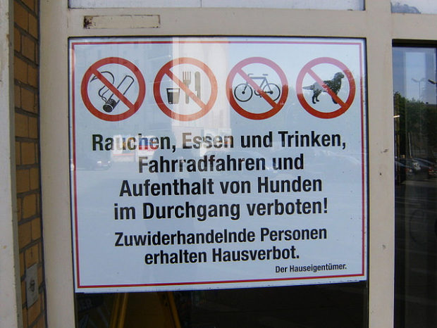 Anweisung im Wedding (Mai 2009)
