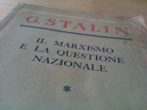 il marxismo e la questione nazionale