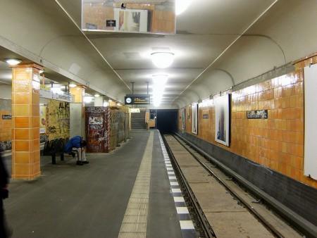 U-Bhf Rosenthaler Platz (Dezember 2008)