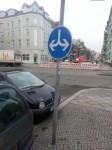 Was will uns der Straßenbaumeister damit sagen?