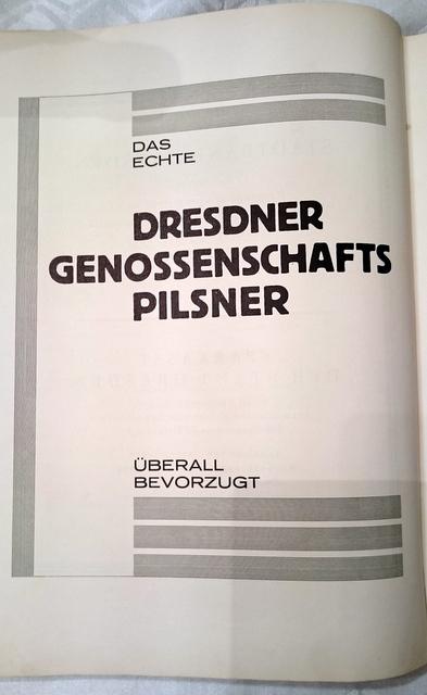 Anzeige in einem Buch von 1926