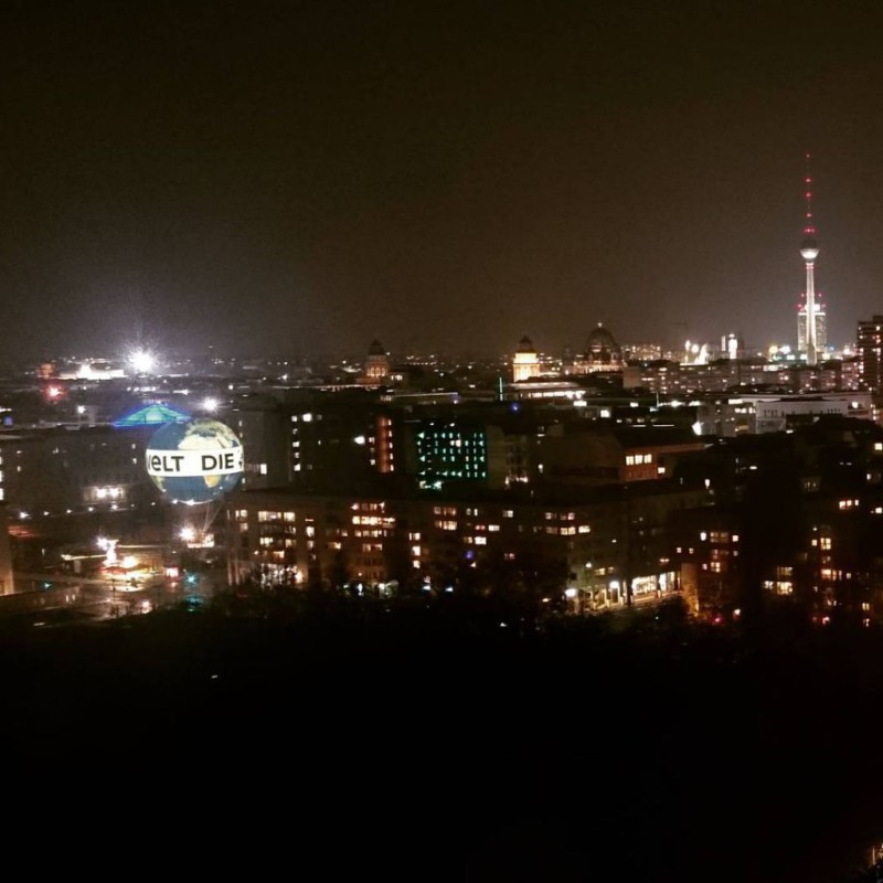 #berlin #night #panorama