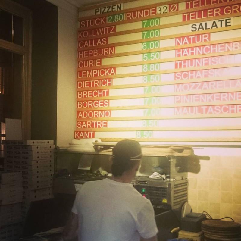 #pizza #adorno #brecht #kollwitz