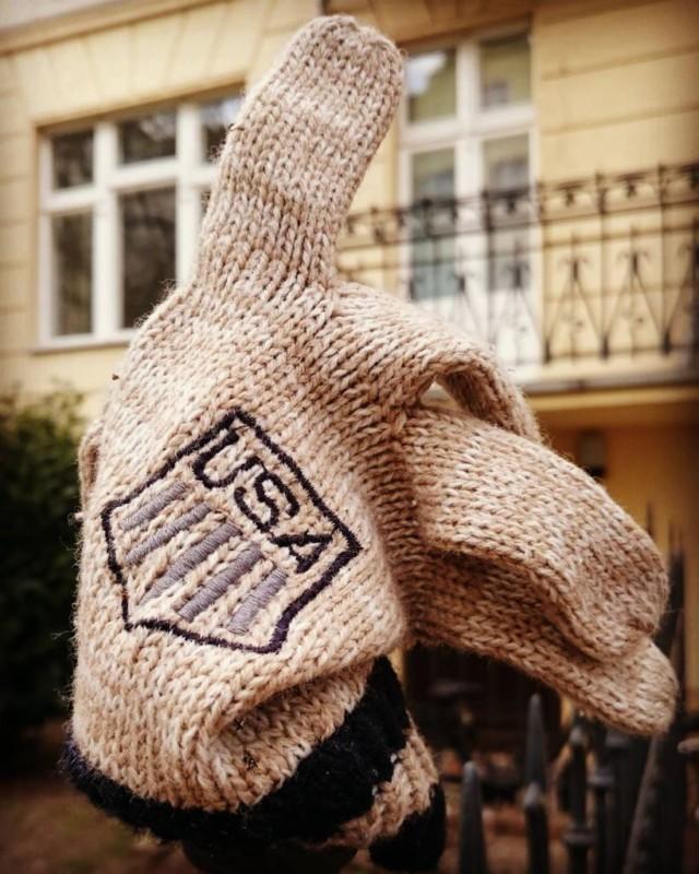 #usa #handschuh