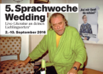 5. Weddinger Sprachwoche 2016 (2. bis 10. September)