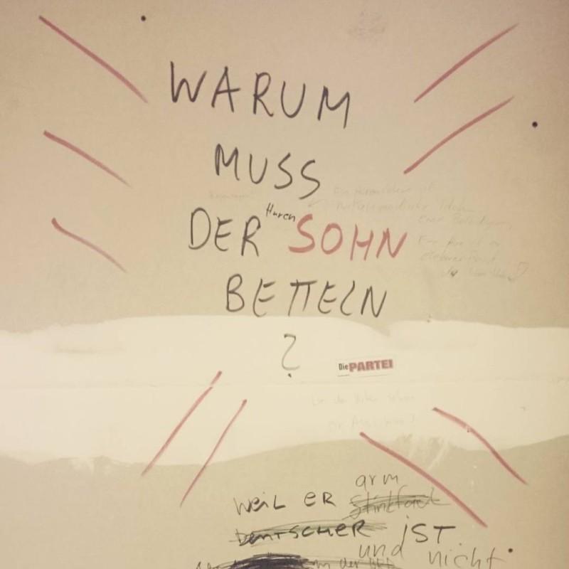 legendäre frage im berliner stadtbild seit mind. 2001, offenbar wieder da, hier mai 2017
