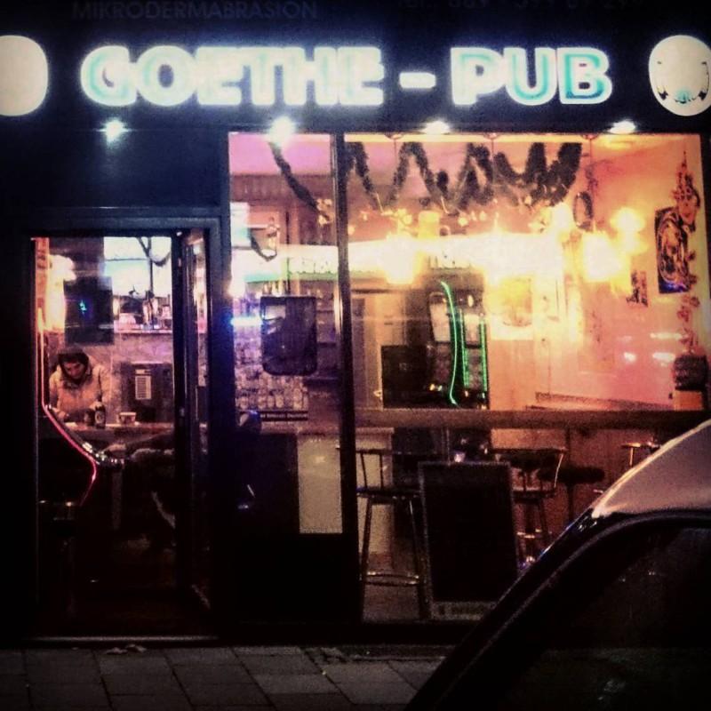 wenn du der große hexenmeister der germanisten bist, in münchen aber nur ein lausiger pub nach dir benannt wird