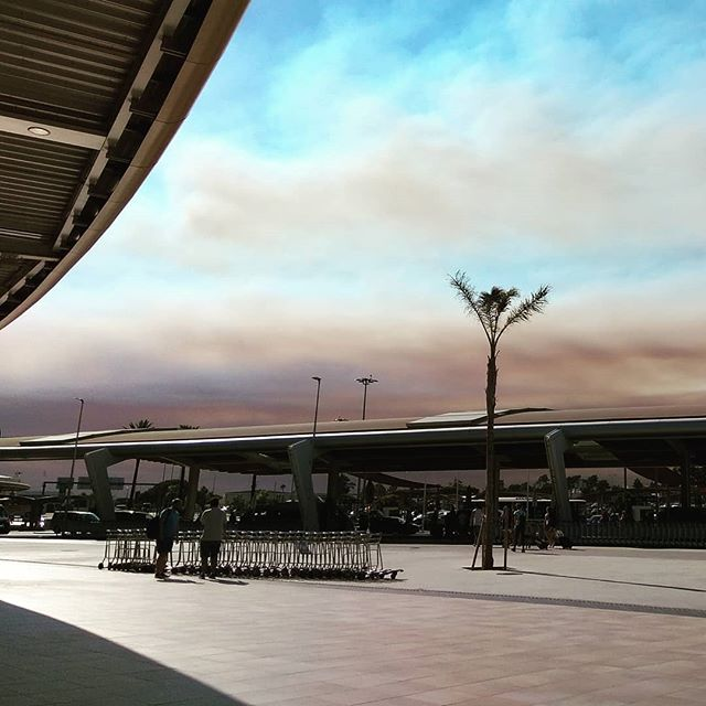 Algarve's burning