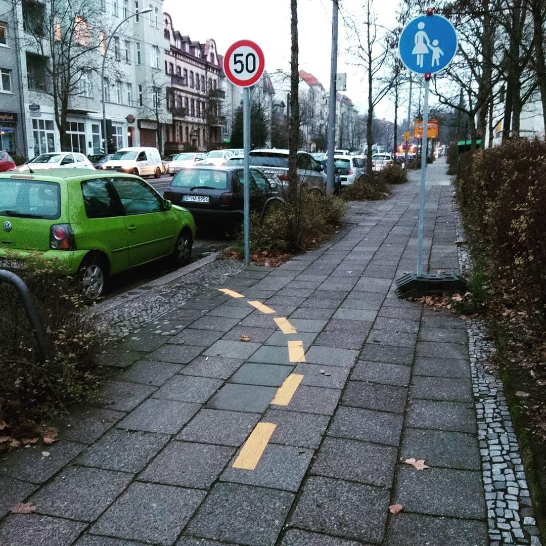 Fahrradweg #infrastrukturapokalüze