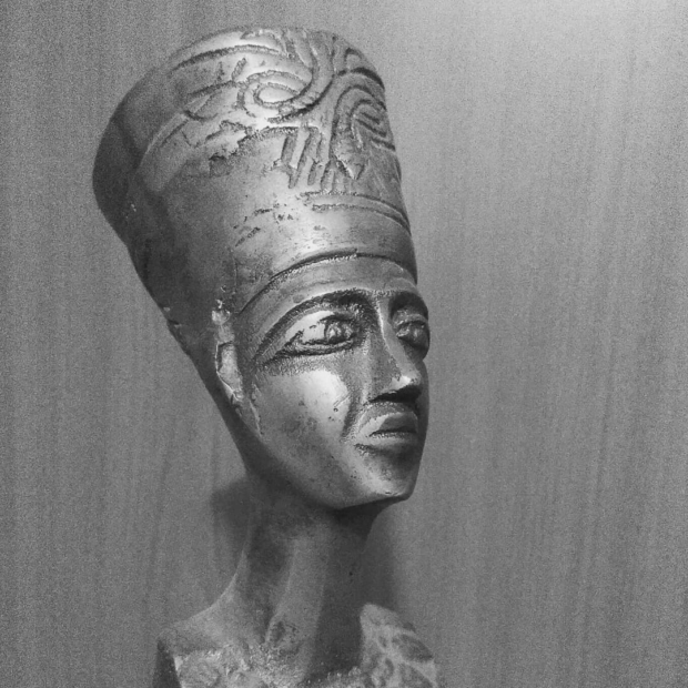 Thutmose once had a bad day. #nofretete #nefertiti