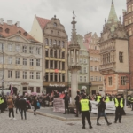 protest in #wroclaw market square 9.3.19